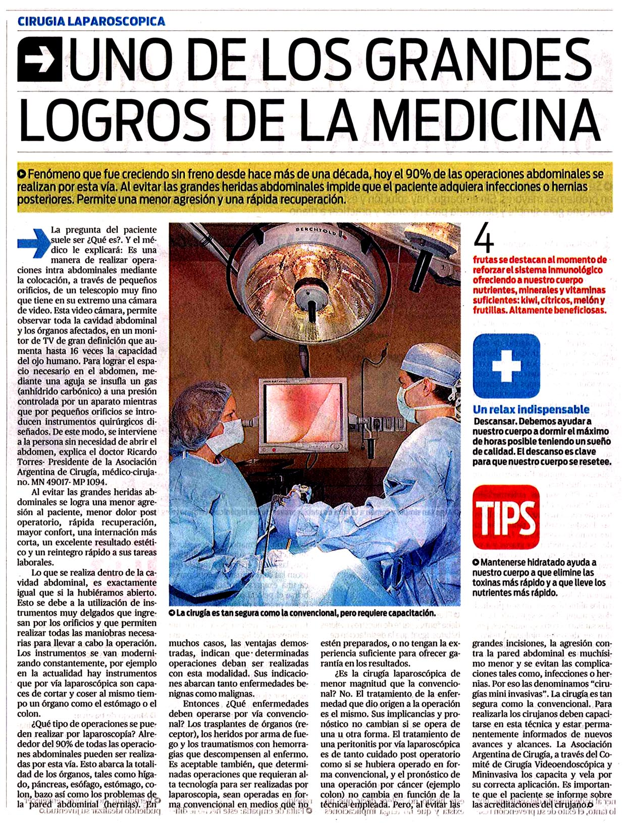 Diario Popular Asociación Argentina de Cirugía