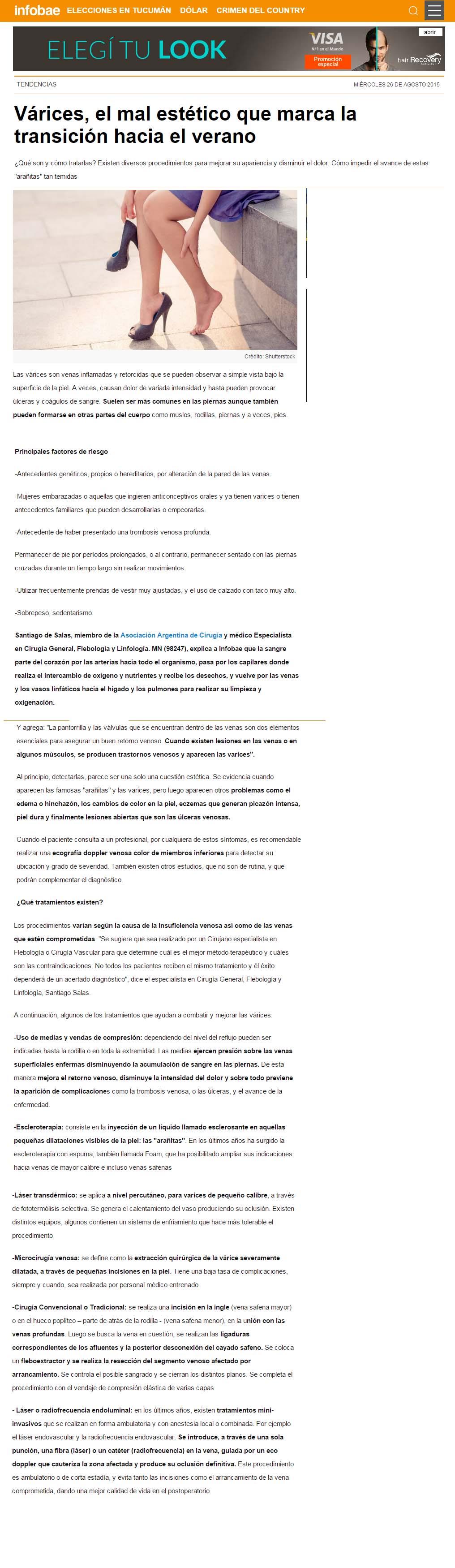 Infobae Asociación Argentina de Cirugía