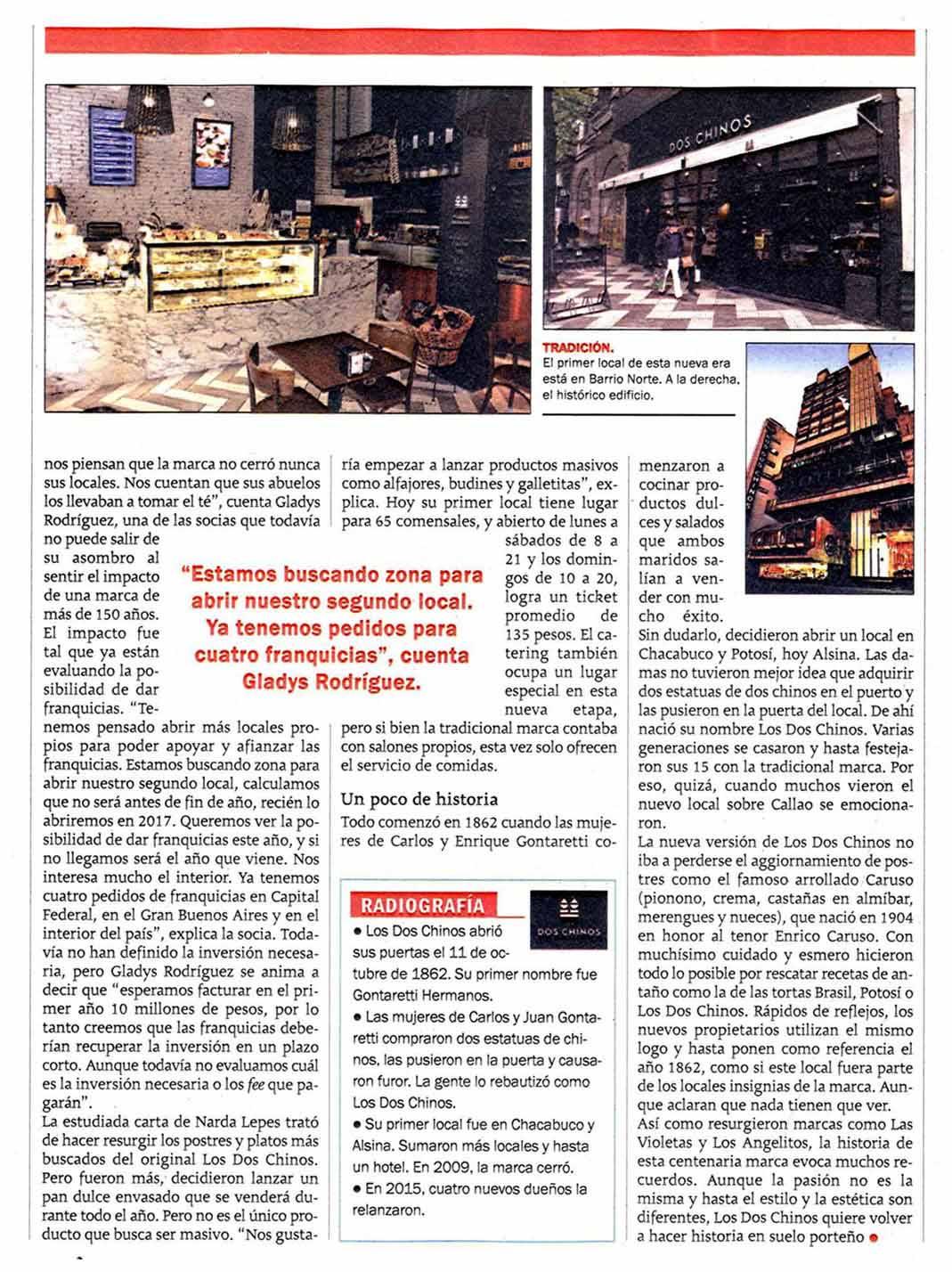 Revista Veintitres 2 Los Dos Chinos